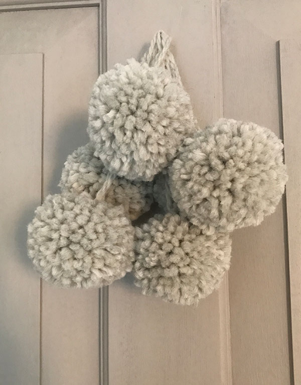 Grey-pompom-christmasdecoration