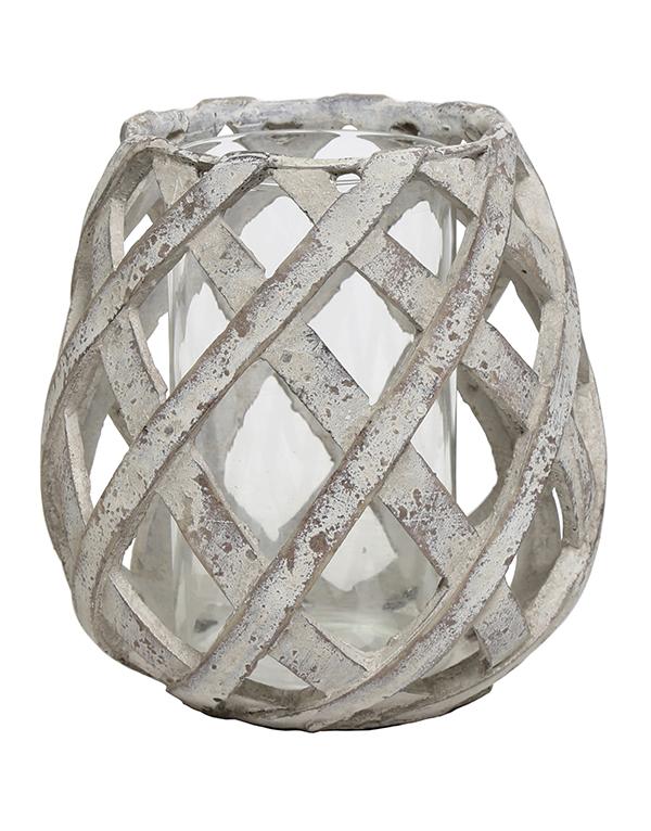 Grey_lattice_stone_hurricanelamp