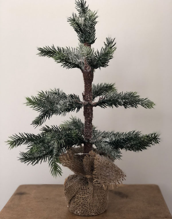 Mini-frosted-christmastree-